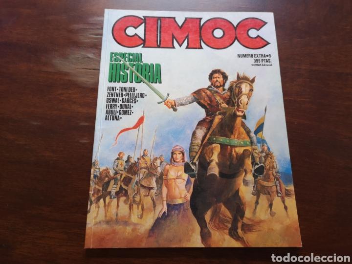 CIMOC ESPECIAL HISTORIA CON ABULI, HORACIO ALTUNA, ALFONSO FONT, ETC (Tebeos y Comics - Norma - Cimoc)
