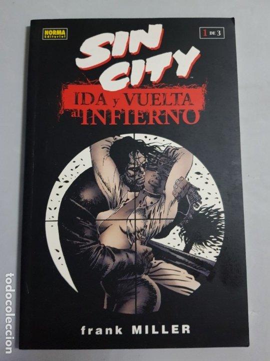 SIN CITY IDA Y VUELTA AL INFIERNO NORMA EDITORIAL ESTADO MUY BUENO MAS ARTICULOS NEGOCIABLE (Tebeos y Comics - Norma - Comic USA)