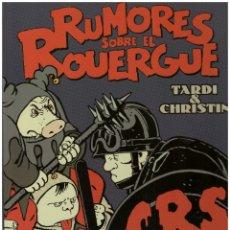 Cómics: TARDI. RUMORES SOBRE EL ROUERGUE. EDICIONES DE PONENT. TAPA DURA. 52 PAGINAS. Lote 211659239