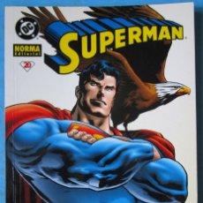 Cómics: SUPERMAN - TOMO 20 - DC NORMA 2002 ''MUY BUEN ESTADO''. Lote 174151617
