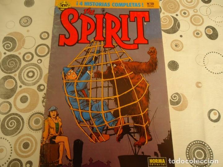 SPIRIT Nº 59 (Tebeos y Comics - Norma - Otros)