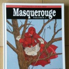 Cómics: MASQUEROUGE - TOMO INTEGRAL Nº 01 (DE DE COTHIAS Y JUILLARD).EXCELENTE. Lote 174284210