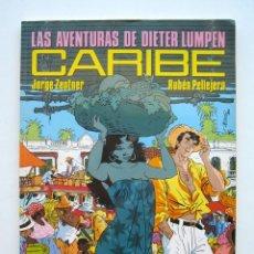 Cómics: CARIBE. LAS AVENTURAS DE DIETER LUMPEN, POR J. ZENTNER Y R. PELLEJERO. CIMOC N.º 65. Lote 174370939