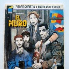 Cómics: EL MURO. PIERRE CHRISTIN Y ANDREAS C. KNIGGE. COL. PANDORA. ED. NORMA 1990. Lote 174509860