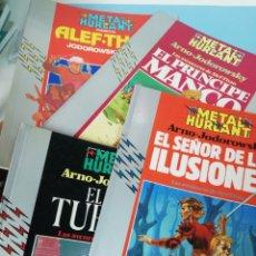 Cómics: LOTE 4 LAS AVENTURAS DE ALEF THAU. ARNO/JODOROWSKY. Lote 175022012