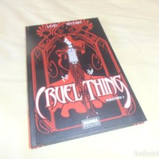 Cómics: CRUEL THING VOLUMEN 1 - LEAN Y VECCHIO - NORMA . Lote 175044349