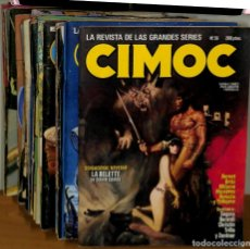 Cómics: CIMOC LOTE DE 134 COMICS NORMA EDITORIAL. Lote 175061904