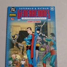 Fumetti: SUPERMAN BATMAN GENERACIONES ESTADO MUY BUENO PRECIO NEGOCIABLE MAS ARTICULOS. Lote 175071207