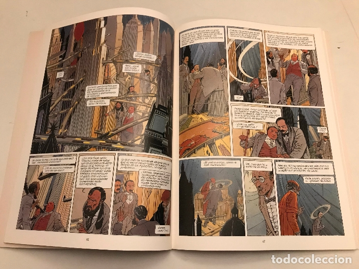 Cómics: LAS CIUDADES OSCURAS Nº 1. BRUSEL. SCHUITEN. NORMA 1993 - Foto 2 - 175109198