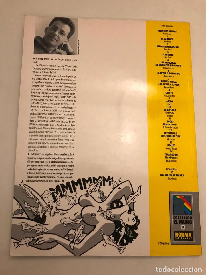 Cómics: EL MURO Nº 14. TINA BLOOM. NORMA 1990 - Foto 3 - 175116909