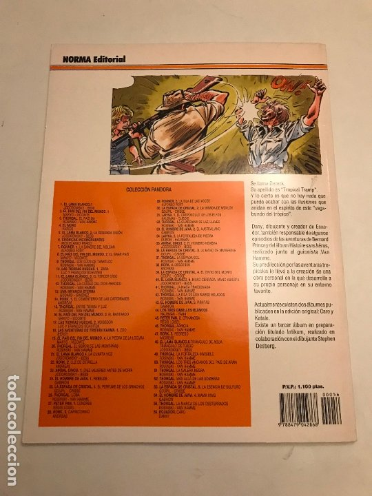 Cómics: COLECCION PANDORA Nº 56. ECUADOR. CARO. NORMA 1995 - Foto 3 - 175118483
