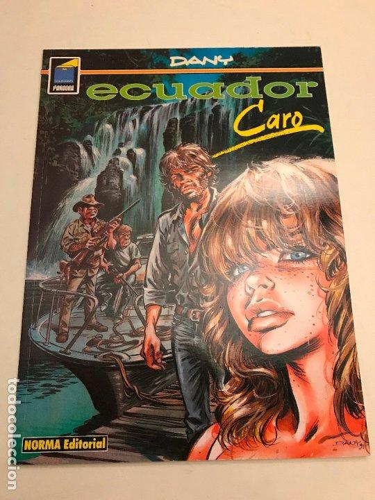 COLECCION PANDORA Nº 56. ECUADOR. CARO. NORMA 1995 (Tebeos y Comics - Norma - Comic Europeo)