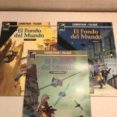 Cómics: COLECCION COMPLETA DE 3 NUMEROS. EL FONDO DEL MUNDO. PANDORA 66, 71 Y 78. NORMA 1997. Lote 175118698