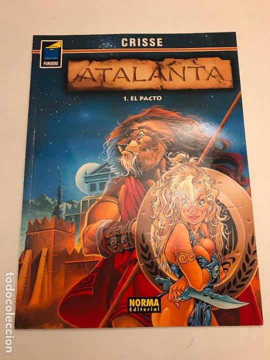 COLECCION PANDORA Nº 90. ATALANTA 1. EL PACTO. NORMA 2001 (Tebeos y Comics - Norma - Comic Europeo)