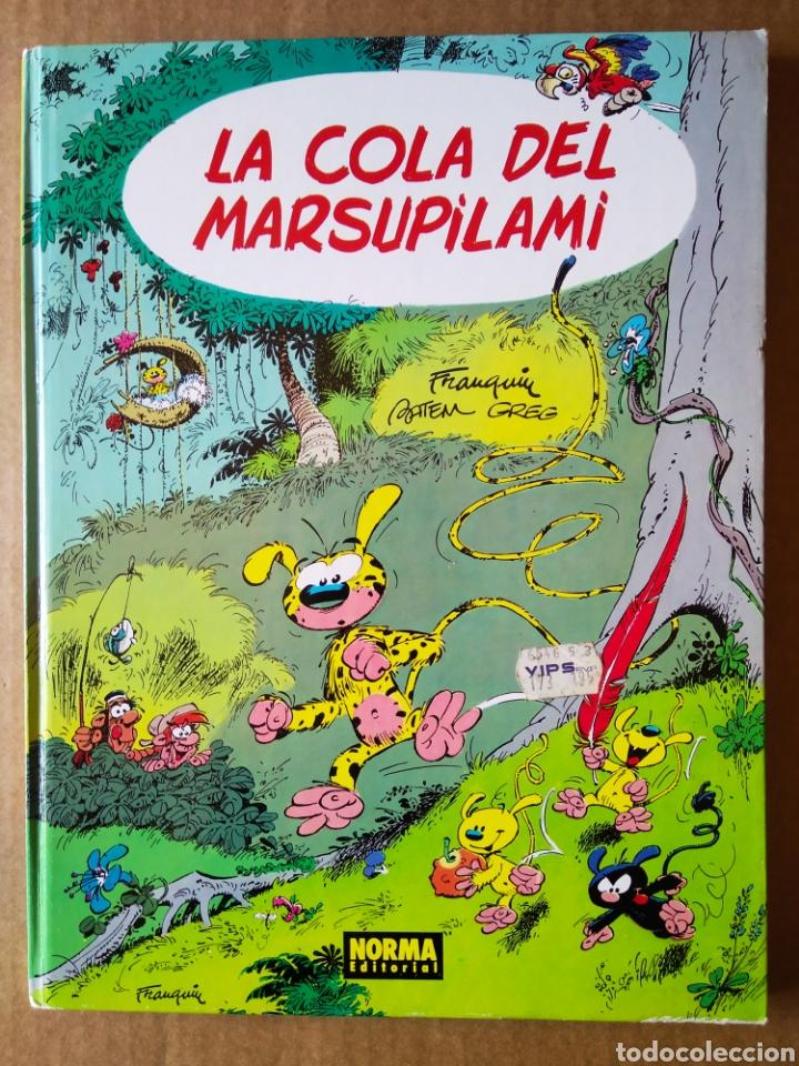 LA COLA DEL MARSUPILAMI (NORMA EDITORIAL, 1988). POR FRANQUIN, BATEM Y GREG. LOS ÁLBUMES DE CAIRO 14 (Tebeos y Comics - Norma - Comic Europeo)
