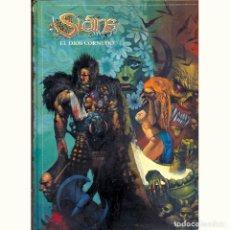 Comics : SLAINE. EL DIOS CORNUDO. INTEGRAL. PAT MILLS. SIMON BISLEY. TAPA DURA. NORMA. Lote 175235065