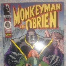 Cómics: MONKEYMAN AND O`BRIEN: ARTHUR ADAMS: NORMA. Lote 41562259