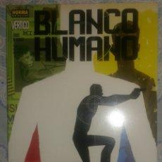 Cómics: BLANCO HUMANO: ZONAS DE CHOQUE: VERTIGO: NORMA EDITORIAL. Lote 104283987