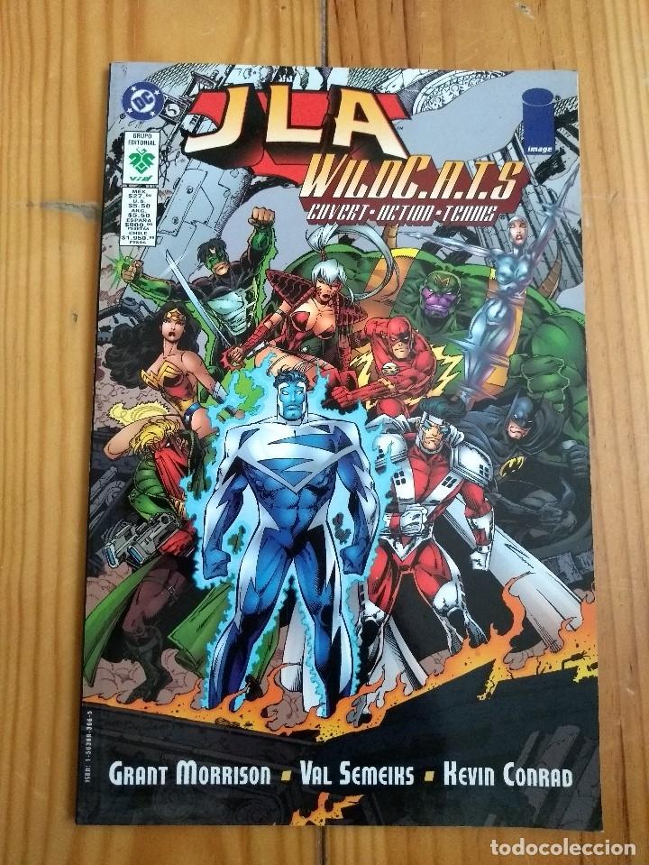 JLA WILDCATS - WILDC.A.T.S - GRANT MORRISON (Tebeos y Comics - Norma - Comic USA)