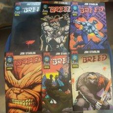 Fumetti: BREED (OBRA COMPLETA 6 NÚMEROS) - JIM STARLIN - NORMA. Lote 175415613