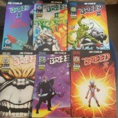 Fumetti: BREED II (OBRA COMPLETA 6 NÚMEROS) - JIM STARLIN - NORMA. Lote 175415787