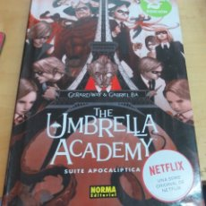 Cómics: THE UMBRELLA ACADEMY VOLUMEN 1 SUITE APOCALÍPTICA GERARD WAY GABRIEL BA NORMA AÑO 2018. Lote 175499533