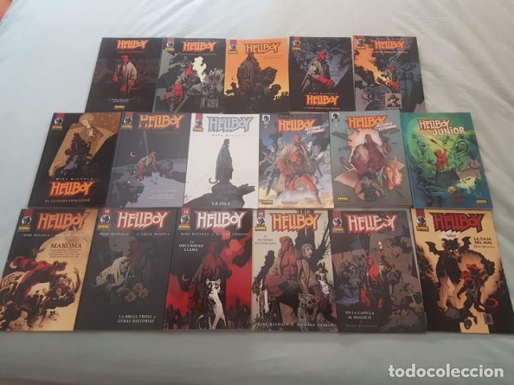 HELLBOY (14 TOMOS + ESPECIALES) - NORMA (Tebeos y Comics - Norma - Comic USA)