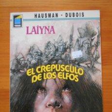 Cómics: LAIYNA - EL CREPUSCULO DE LOS ELFOS - HAUSMAN / DUBOIS - NORMA EDITORIAL - COL. PANDORA (O1). Lote 175663178