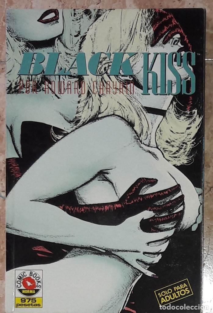 BLACK KISS NORMA 1990. COMPLETA EN UN TOMO (Tebeos y Comics - Norma - Otros)