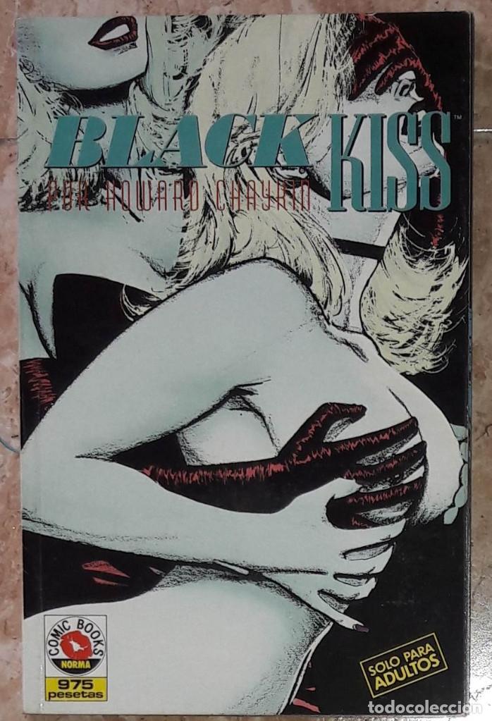 Cómics: Black Kiss Norma 1990. Completa en un tomo - Foto 2 - 175935107