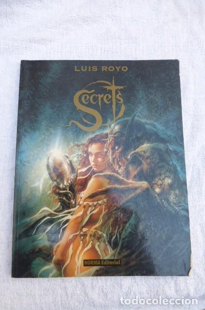 COMIC SECRETS DE LUIS ROYO. 1ª EDICION 1996..NORMA EDITORES. (Tebeos y Comics - Norma - Otros)