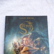 Cómics: COMIC SECRETS DE LUIS ROYO. 1ª EDICION 1996..NORMA EDITORES.. Lote 175977818