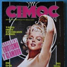 Cómics: CIMOC Nº 6 - ESPECIAL EROTISMO Y GLAMOUR - NORMA 1986. Lote 176030092