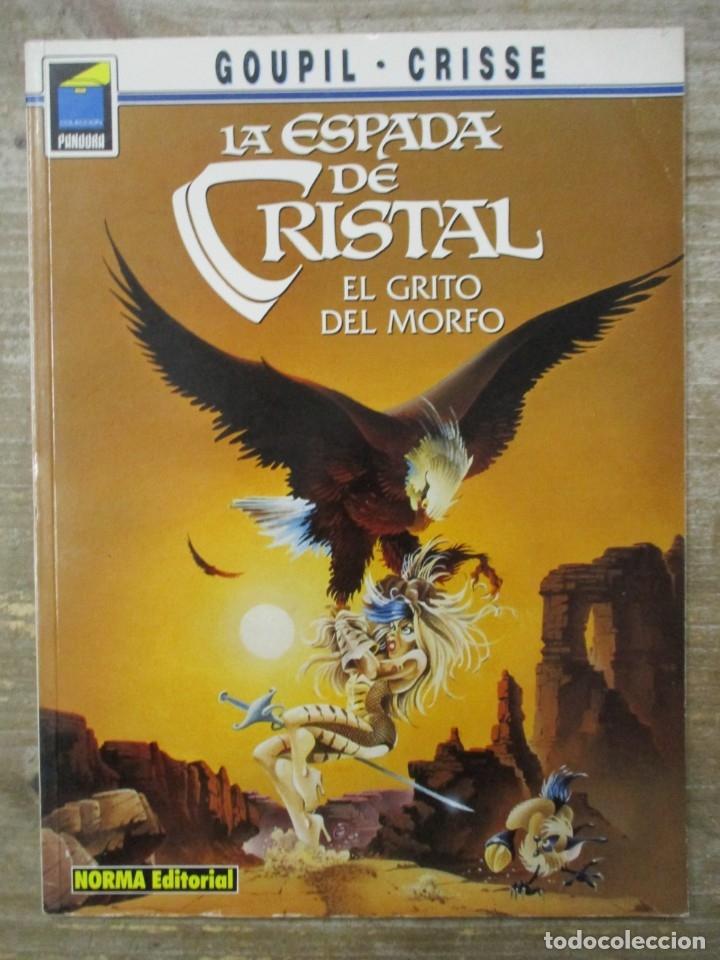COLECCION PANDORA Nº 60 - LA ESPADA DE CRISTAL / EL GRITO DEL MORFO - NORMA (Tebeos y Comics - Norma - Comic Europeo)