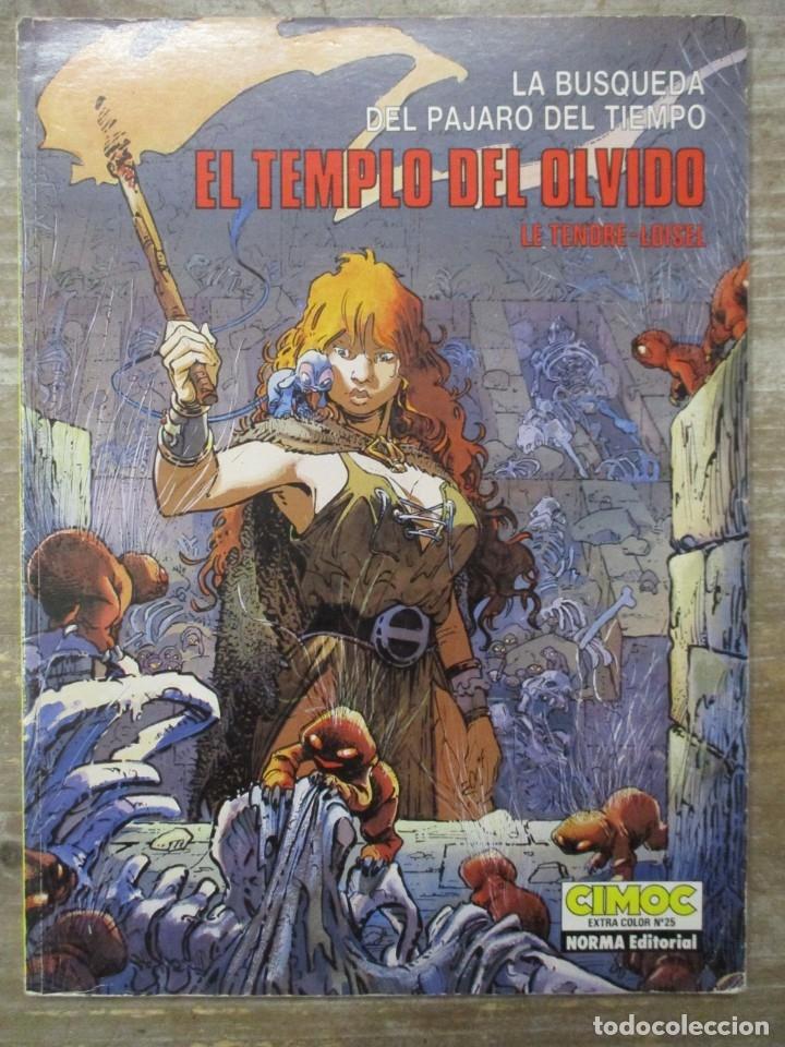 CIMOC EXTRA COLOR Nº 25 LA BUSQUEDA DEL PAJARO DEL TIEMPO EL TEMPLO DEL OLVIDO - NORMA (Tebeos y Comics - Norma - Comic Europeo)