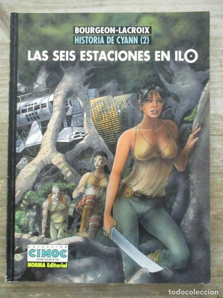 COLECCION CIMOC EXTRA COLOR Nº 145 HISTORIA DE CYANN 2 LAS SEIS ESTACIONES EN ILO - NORMA (Tebeos y Comics - Norma - Comic Europeo)