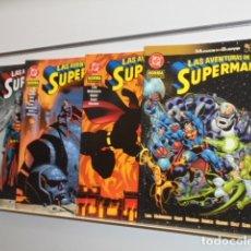 Cómics: LAS AVENTURAS DE SUPERMAN MUNDOS EN GUERRA COMPLETA 4 TOMOS - NORMA - OFERTA. Lote 176129740