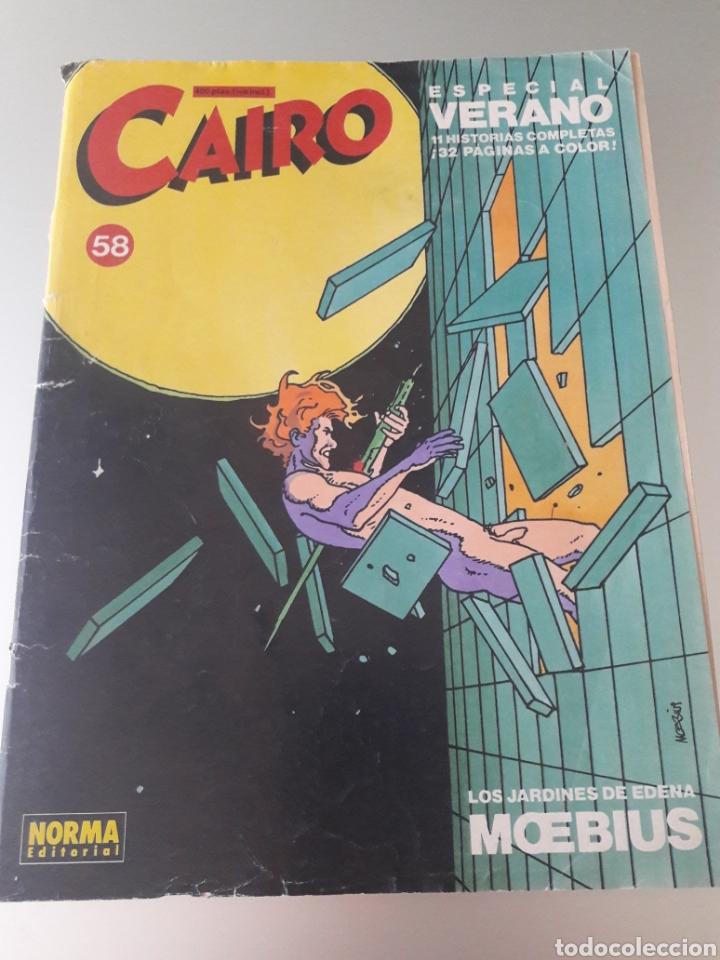 Cómics: REVISTA CAIRO N°51 Y N°58 ESPECIAL VERANO EDITORIAL NORMA - Foto 2 - 176200635