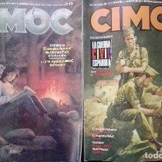 Cómics: CIMOC NºS 65 Y 66 NORMA EDITORIAL AÑO 86 . Lote 176234607
