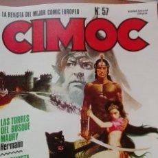 Cómics: CIMOC Nº 57 NORMA EDITORIAL . Lote 176235033