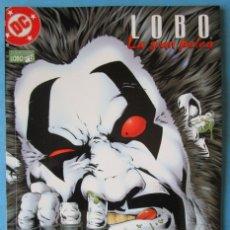 Cómics: LOBO Nº 15 - LA GRAN PELEA - DC NORMA ''MUY BUEN ESTADO''. Lote 176276578