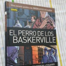 Cómics: EL PERRO DE LOS BASKERVILLE , NORMA EDITORIAL. Lote 176480620