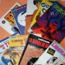 Cómics: COMICS VARIAS EDITORIALES. LOTE. NUEVE EJEMPLARES. VARIOS ESTADOS. NO SUELTOS.. Lote 176551119