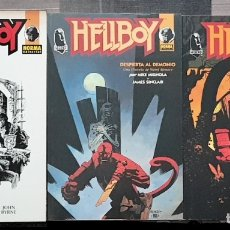 Cómics: HELLBOY DE MIKE MIGNOLA. LOTE DE 3 TOMOS. NORMA EDITORIAL 1996. Lote 139553034
