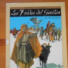 Cómics: LAS 7 VIDAS DEL GAVILAN - EL INTEGRAL - CON CAJA - COTHIAS, JUILLARD - NORMA - TAPA DURA (CJ). Lote 176739114