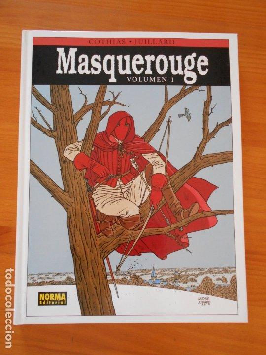MASQUEROUGE VOLUMEN 1 - COTHIAS, JUILLARD - NORMA EDITORIAL - TAPA DURA (N2) (Tebeos y Comics - Norma - Comic Europeo)