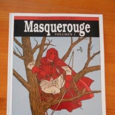 Cómics: MASQUEROUGE VOLUMEN 1 - COTHIAS, JUILLARD - NORMA EDITORIAL - TAPA DURA (N2). Lote 176742612
