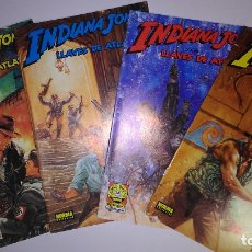 Cómics: * INDIANA JONES * NORMA EDITORIAL 1991 * COMIC BOOKS COMPLETA 4 Nº IMPECABLES *. Lote 176824223