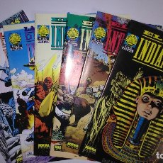 Cómics: * EL JOVEN INDIANA JONES * NORMA EDITORIAL 1992 * COMIC BOOKS LOTE 7 Nº IMPECABLES *. Lote 176825184