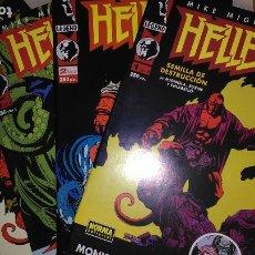 Cómics: * HELLBOY * NORMA EDITORIAL 1995 * COMIC BOOKS COMPLETA 4 Nº IMPECABLES *. Lote 176827042